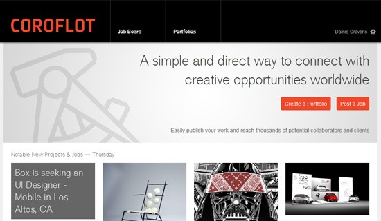 Coroflot-create-online-portfolio