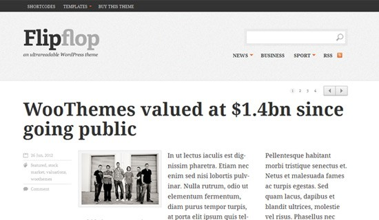 Flipflop-premium-wordpress-themes-2012