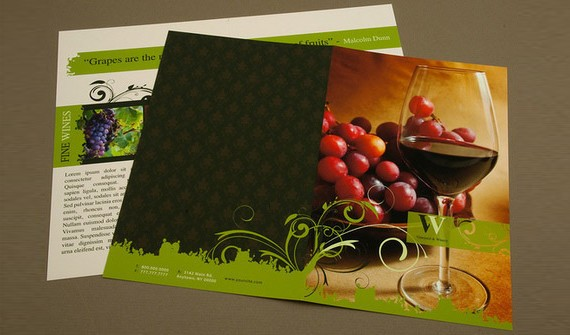 Elegant Winery Brochure