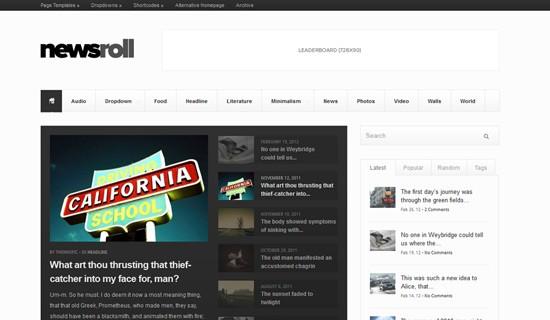 Newsroll-premium-wordpress-themes-2012