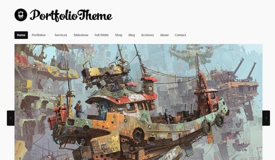 Portfolio-premium-wordpress-themes-2012