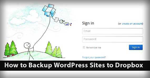 How to Backup WordPress Sites to Dropbox