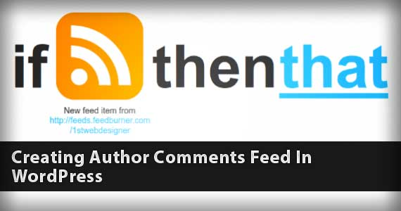Create an Author Comments Feed in WordPress
