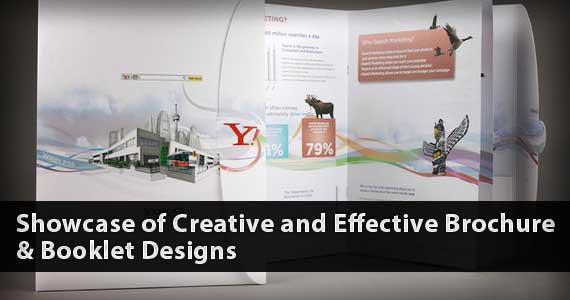 Showcase of Creative and Effective Booklet and Brochure Designs For Your Inspiration