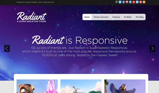 Radiant-premium-wordpress-themes-2012