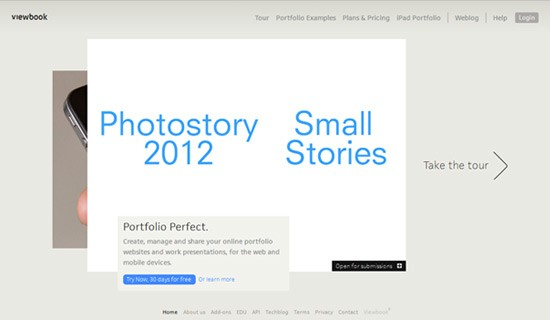 Viewbook-create-online-portfolio