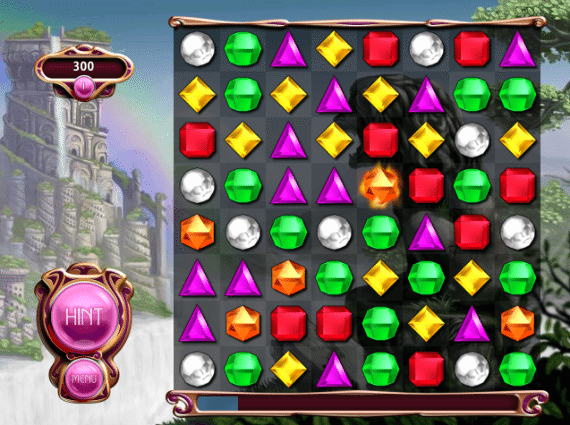 Bejeweled HTML5 Game