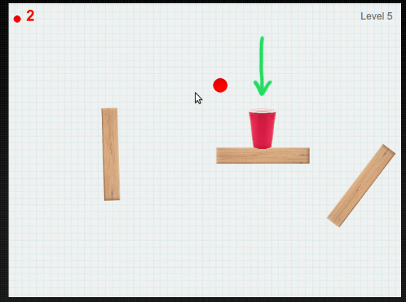 Click Pong HTML5 Game