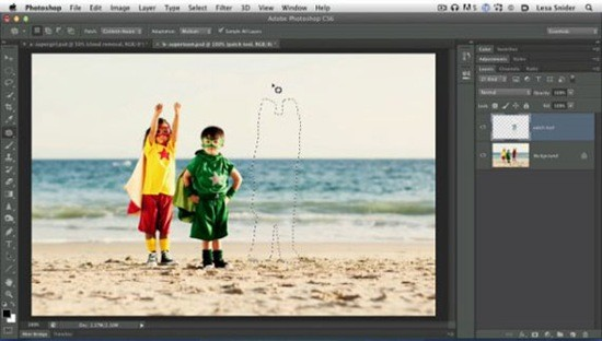 Photoshop-CS6-Patch-Tool