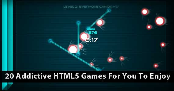 20 Addictive HTML5 Games For You To Enjoy