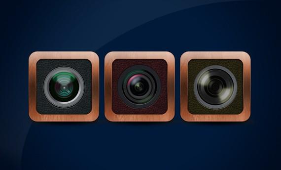 Lens Icon ফ্রী ডাউনলোড করুন High Quality চমৎকার কিছু Icons পিএসডি Format-এ