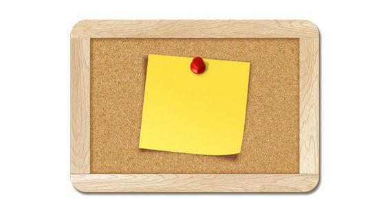 Blank note pinned to corkboard ফ্রী ডাউনলোড করুন High Quality চমৎকার কিছু Icons পিএসডি Format-এ