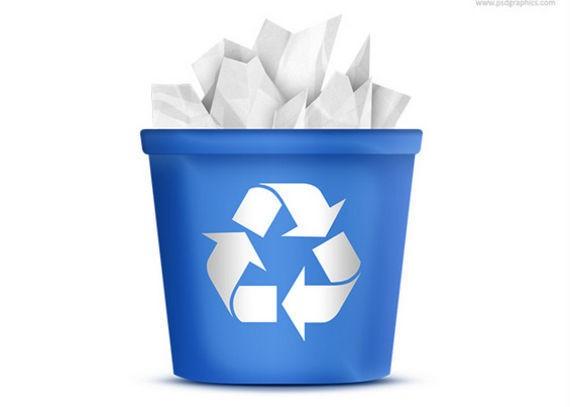 Recycling Bin Icon (PSD) ফ্রী ডাউনলোড করুন High Quality চমৎকার কিছু Icons পিএসডি Format-এ