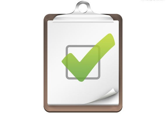 Checklist Icon ফ্রী ডাউনলোড করুন High Quality চমৎকার কিছু Icons পিএসডি Format-এ
