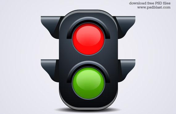 Traffic Light Icon ফ্রী ডাউনলোড করুন High Quality চমৎকার কিছু Icons পিএসডি Format-এ