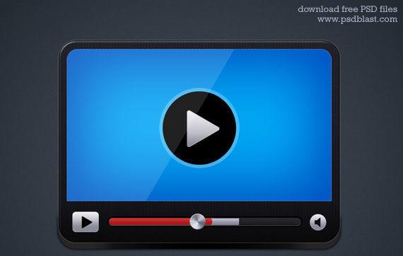 Video Player Icon ফ্রী ডাউনলোড করুন High Quality চমৎকার কিছু Icons পিএসডি Format-এ