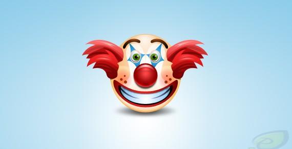 Clown Icon ফ্রী ডাউনলোড করুন High Quality চমৎকার কিছু Icons পিএসডি Format-এ