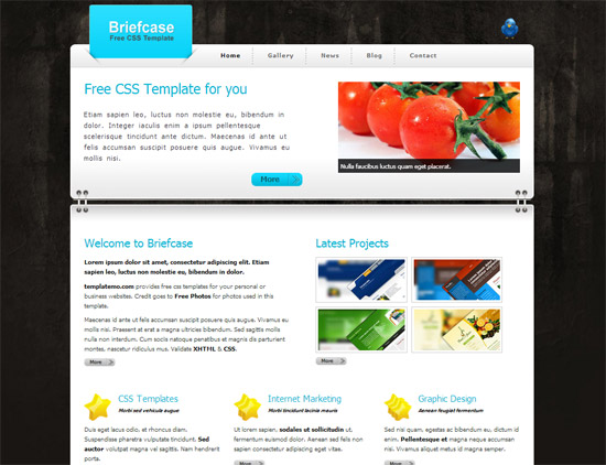 45 High-Quality Free HTML/CSS Templates from 2011 and 2012