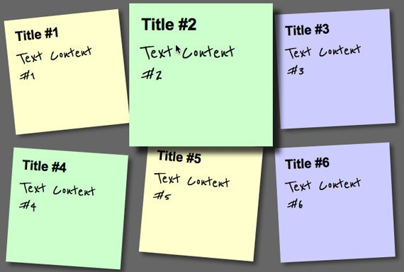 Create a Sticky Note Effect with CSS3 and HTML5