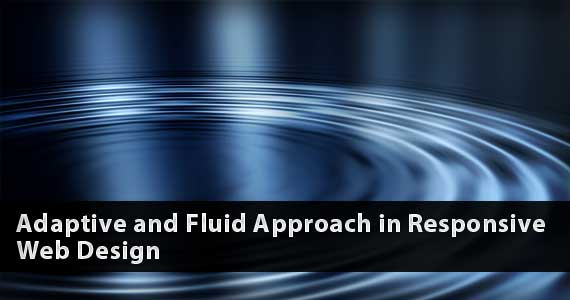 Adaptive and Fluid Approach in Responsive Web Design