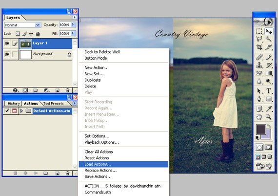 Digi Effectz Media ™: How to Create an Action in Photoshop