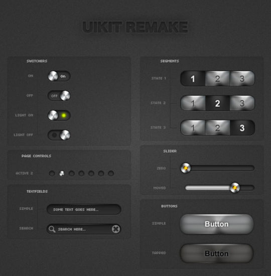 iPhone UIKits light remake