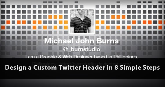 Design a Custom Twitter Header in 8 Simple Steps