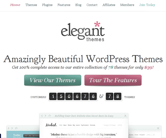 ElegantThemes: A Reputed Premium Theme Provider