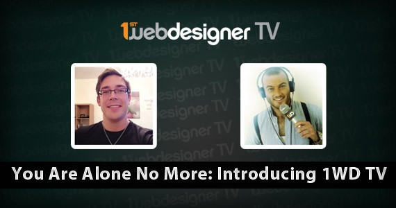 You Are Alone No More: Introducing 1WD TV