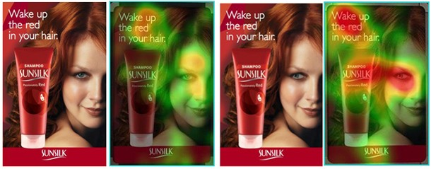 Sunsilk eye tracking