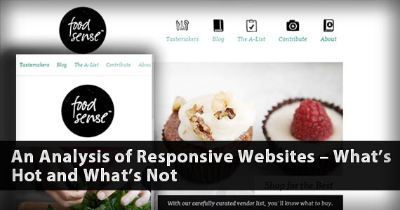 An Analysis of Responsive Websites – What's Hot and What's Not
