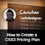 Design a Pricing Plan Using CSS3 in Under 15 Minutes – Downloadable