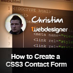 Create a Contact Form in HTML5 and CSS3 for Dummies - Downloadable