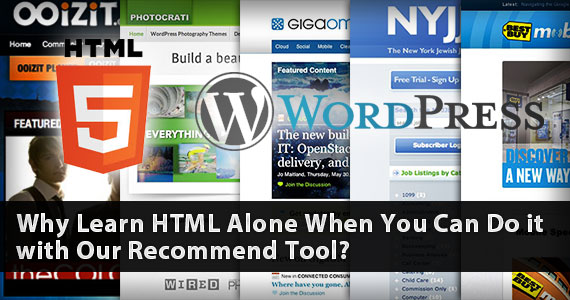 Why Learn HTML Alone When You Can Do it with Our Recommended Tool?