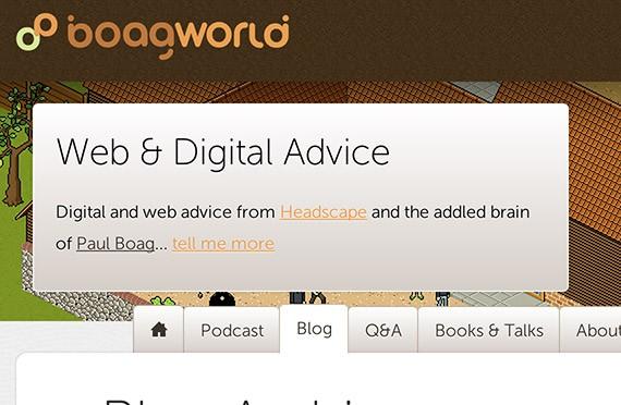 Boagworld web design blog top blogs follow