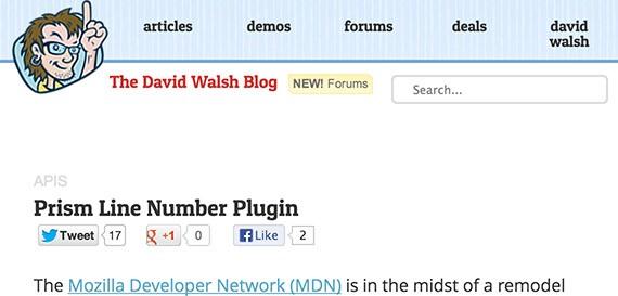 David walsh web design blog top blogs follow