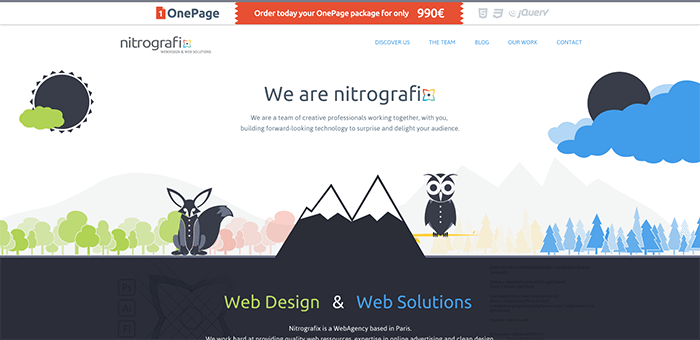 40 Inspirational Websites with a Flat Design
