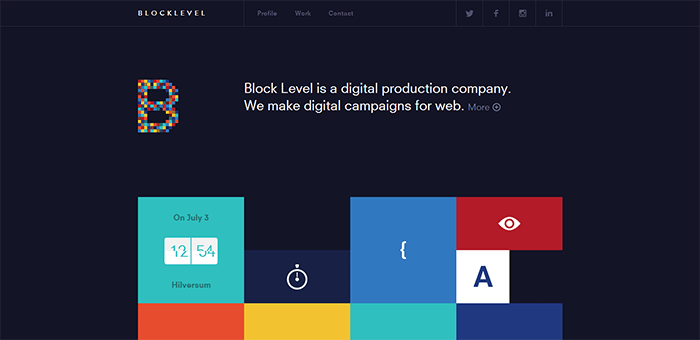 Inspirational Websites With A Flat Design - Best tile design websites