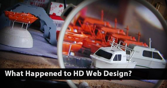 What Happened to HD Web Design?
