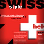 What is Swiss Style Typography?
