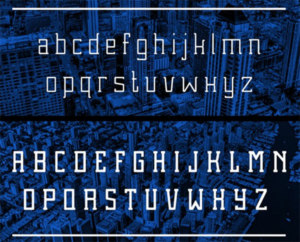 free modern font typeface family 101