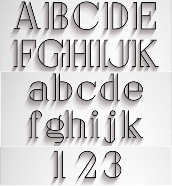 free modern font typeface family 108