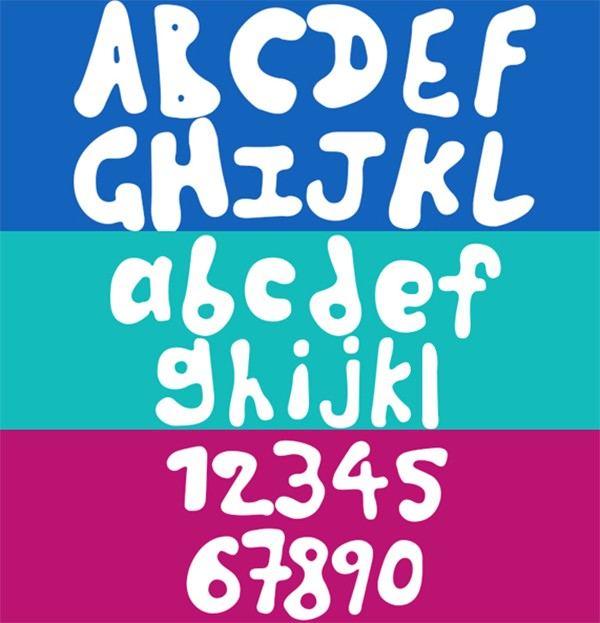 free modern font typeface family 120