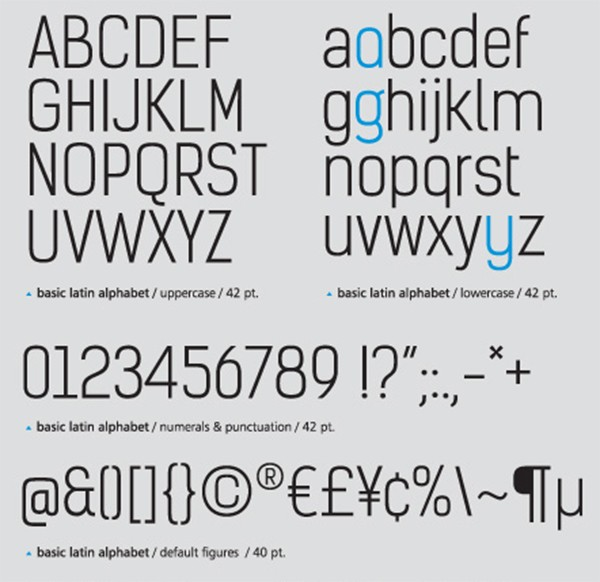 free modern font typeface family 15