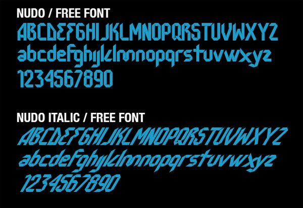 free modern font typeface family 58