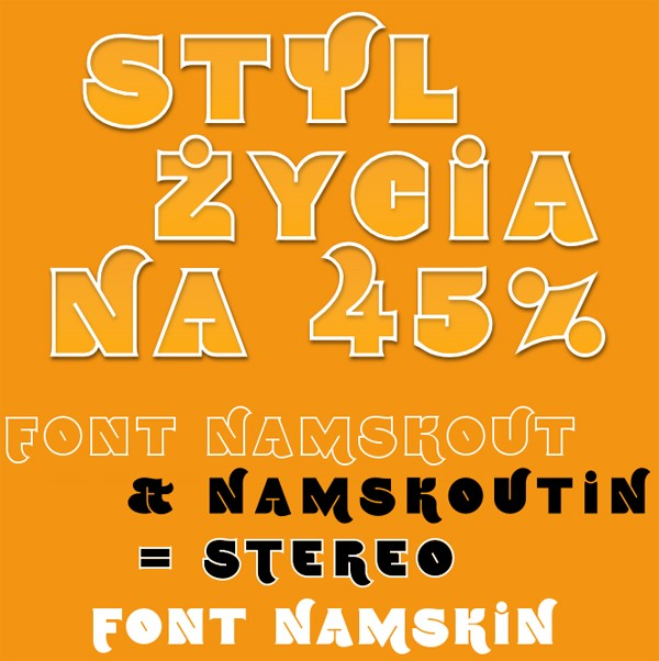 free modern font typeface family 69