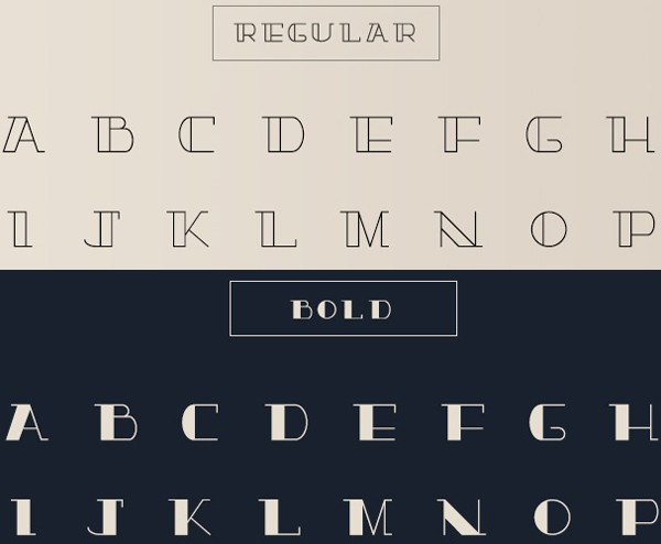 free modern font typeface family 88