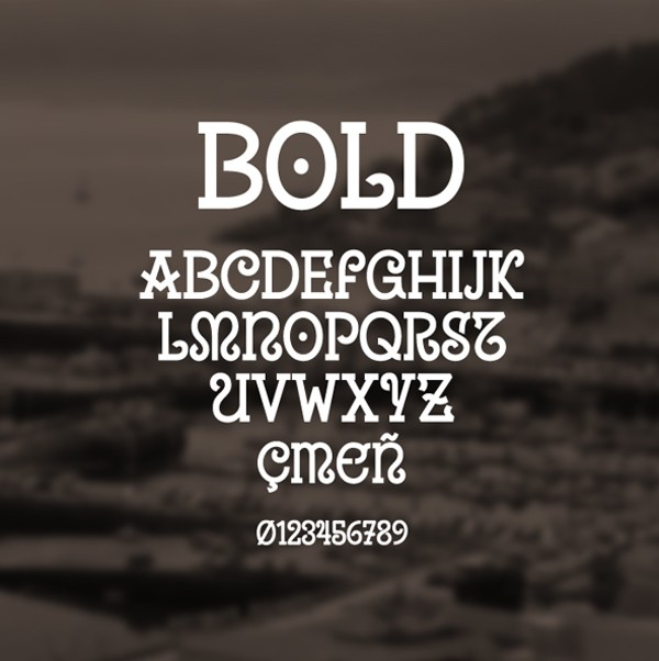 free modern font typeface family 93