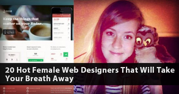 20 Hot Female Web Designers Doing Great in Design World!