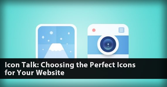 Icon Talk: Choosing the Perfect Icons for Your Website